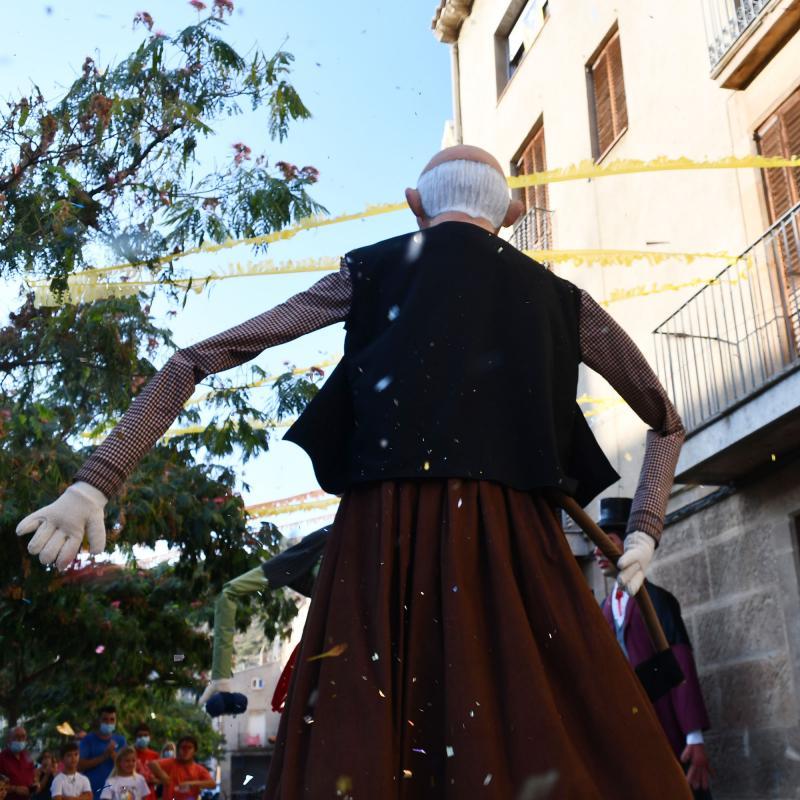 27.08.2021 Presentació dels nous gegants de cal Cardoní  Torà -  Ramon Sunyer