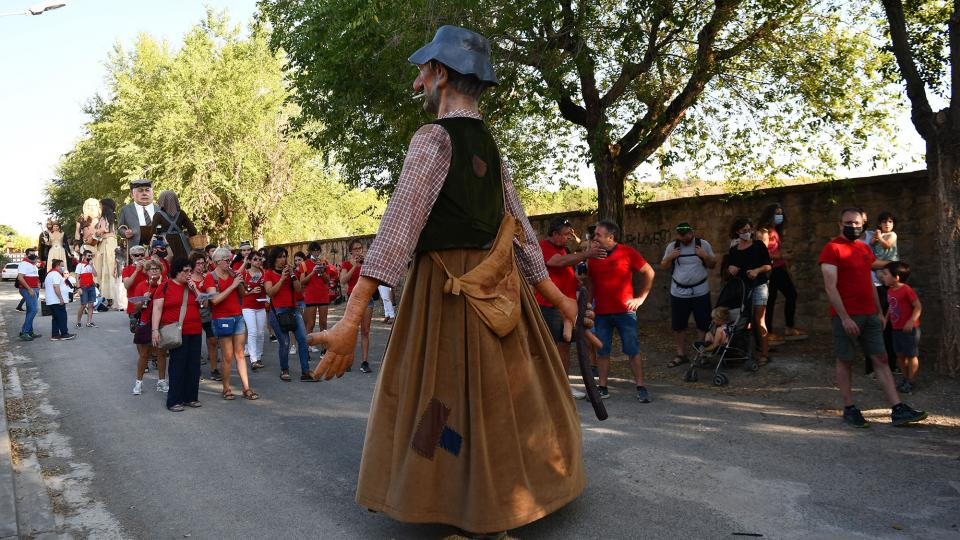 28.08.2021 Trobada colles geganteres  Torà -  Ramon Sunyer