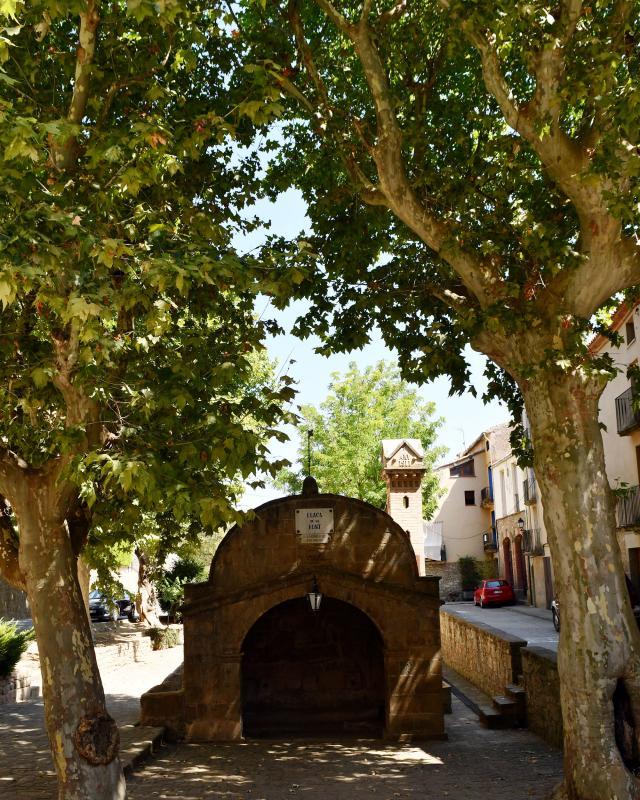 28.08.2021 Plaça de la Font  Torà -  Ramon Sunyer