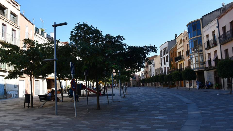28.08.2021 Plaça del Vall  Torà -  Ramon Sunyer