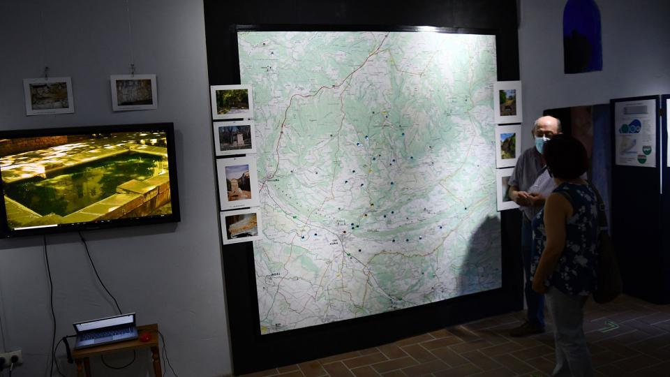 28.08.2021 Exposició aigua  Torà -  Ramon Sunyer
