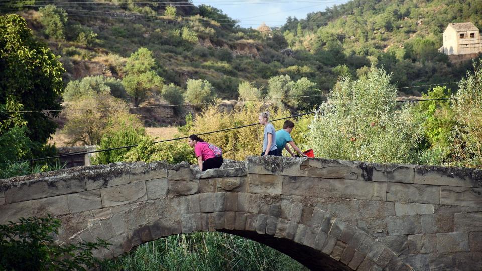 30.08.2021 Pont de les Merites  Torà -  Ramon Sunyer