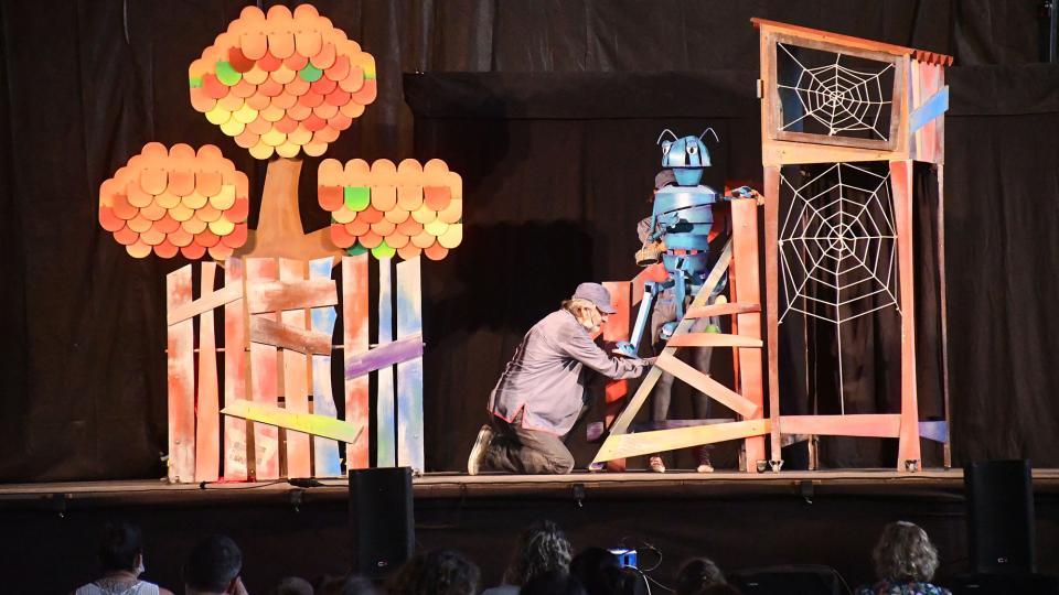 31.08.2021 Espectacle infantil Xip Xap Teatre  Torà -  Ramon Sunyer