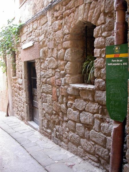 02.09.2005 Antic Forn del Pa  Torà -  Ramon Sunyer