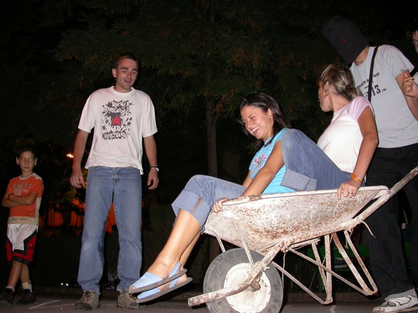 02.09.2005 Conducció de carretó sense veure-hi  Torà -  Ramon Sunyer