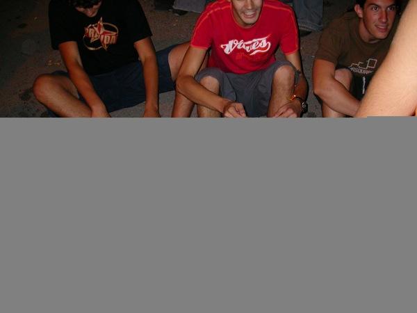 02.09.2005 Pintar amb els peus  Torà -  Ramon Sunyer