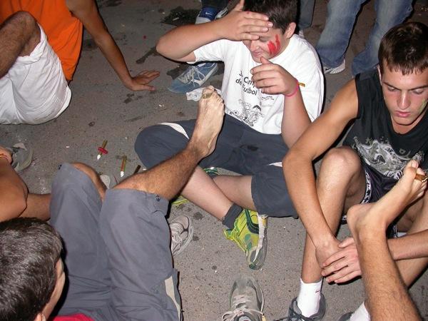 02.09.2005 Pintors en acció  Torà -  Ramon Sunyer