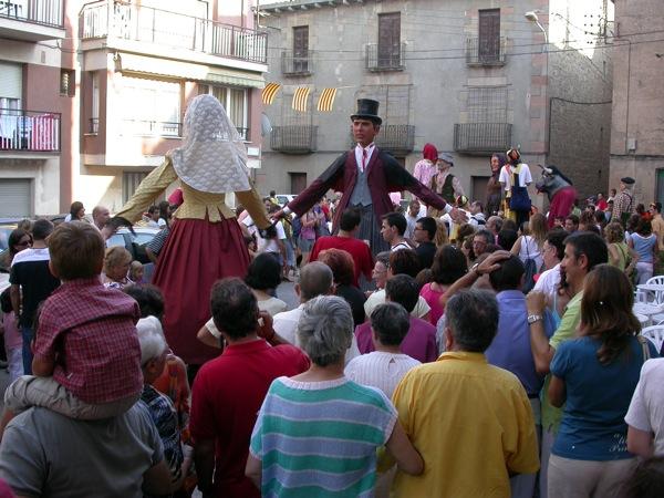 03.09.2005 Rua dels gegants  Torà -  Ramon Sunyer
