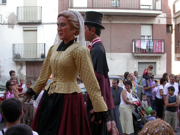 03.09.2005 Rua i Gegants  Torà -  Ramon Sunyer