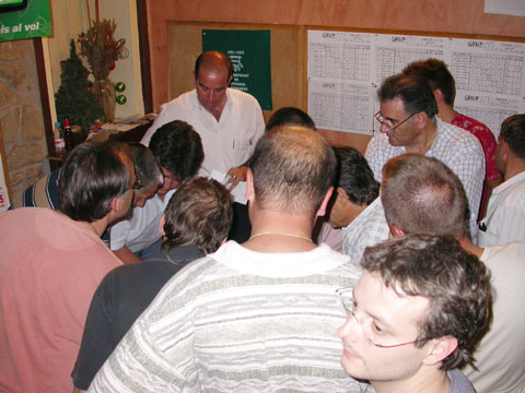 03.09.2005 Recompte de semifinalistes  Torà -  Ramon Sunyer