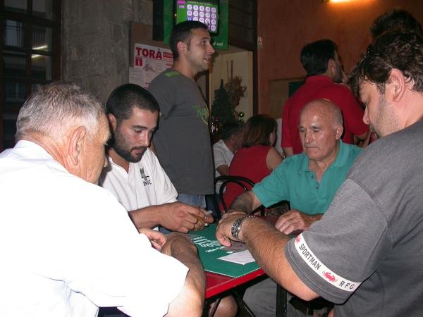 03.09.2005 Quarts de finals: J.Aynés -J. Noguera / J. Escalante - O. Romero  Torà -  Ramon Sunyer