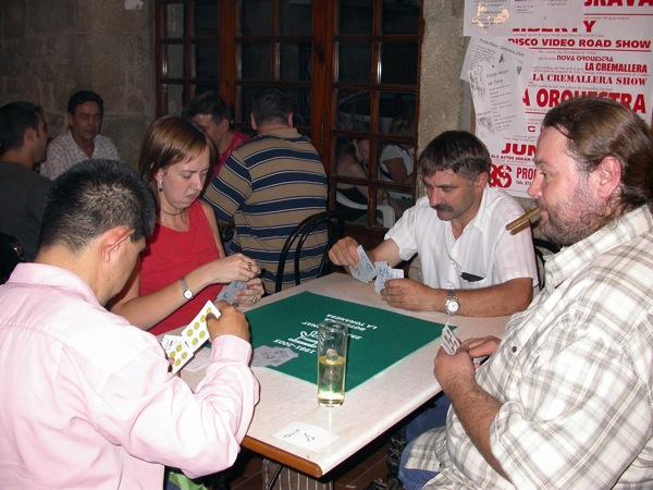 03.09.2005 Quarts de finals: H. Cunyé - O. Romero / R. Miramunt - F. Mas  Torà -  Ramon Sunyer