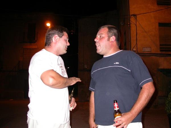 03.09.2005 Els sotscampions, a la fresca  Torà -  Ramon Sunyer