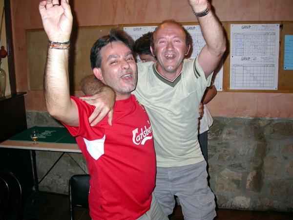 02.09.2006 Campions: Toni Pinós i Pep Alsedà  Torà -  Ramon Sunyer