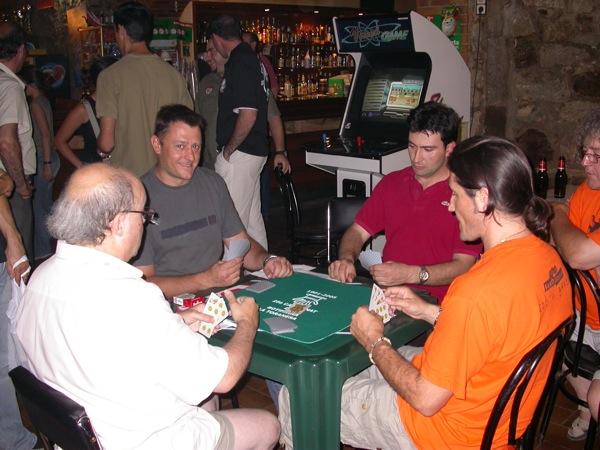 02.09.2006 Semifinals: Josep Musoll, A.M. Hernàndez, Sisco Lunar i JM Vendrell  Torà -  Ramon Sunyer