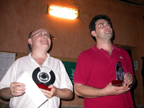 02.09.2006 Sotscampions: JM Vendrell i Antonio M. Hernàndez  Torà -  Ramon Sunyer