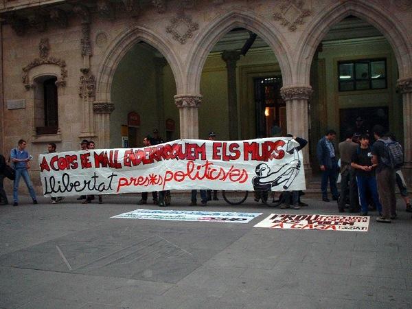 Concentració davant l'Ajuntament de Terrassa - Terrassa