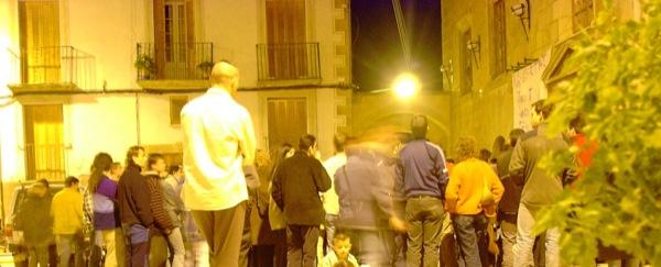 06.04.2003 Concentració diària en suport als familiars  Torà -  Ramon Sunyer