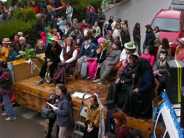 22.02.2003 Les autoritats del Carnestoltes  Torà -  Ramon Sunyer