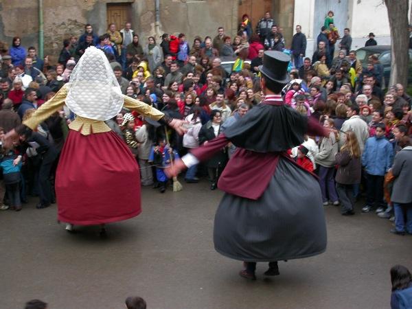 22.02.2003 Ball de gegants  Torà -  Ramon Sunyer