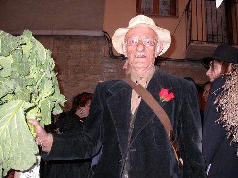 22.02.2003 El Brut ( Pep de Jovans, traspassat el 2004, sempre et recordarem !!)  Torà -  Ramon Sunyer