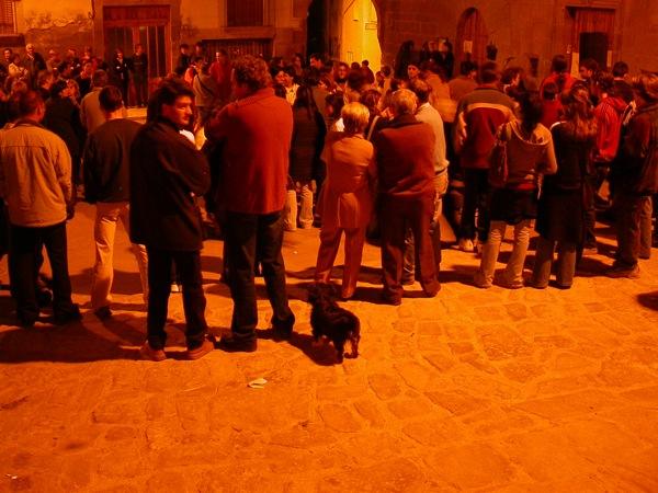 16.04.2003 Moment de silenci  Torà -  Ramon Sunyer