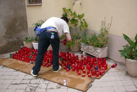 14.06.2003 Encesa d'espelmes  Torà -  Ramon Sunyer