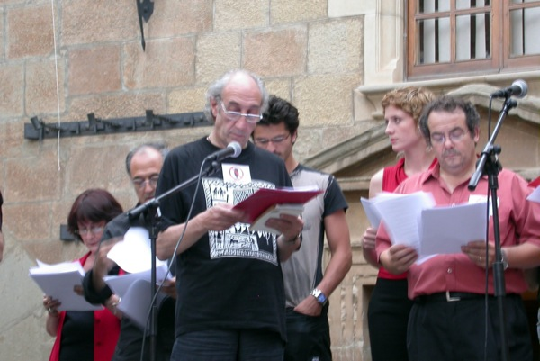 14.06.2003 Lectura de textos i poemes  Torà -  Ramon Sunyer