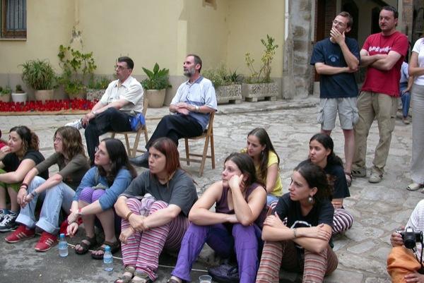 14.06.2003 Assisténcia massiva a l'acte  Torà -  Ramon Sunyer