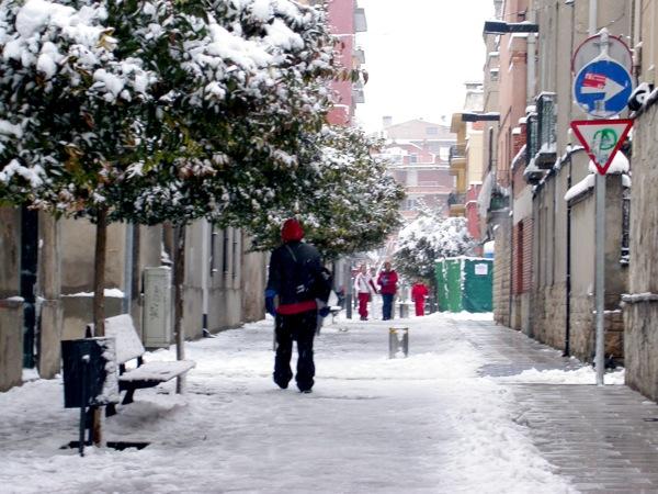 28.01.2006 Detall del carrer sant Magí  Igualada -  Ramon Sunyer i Balcells