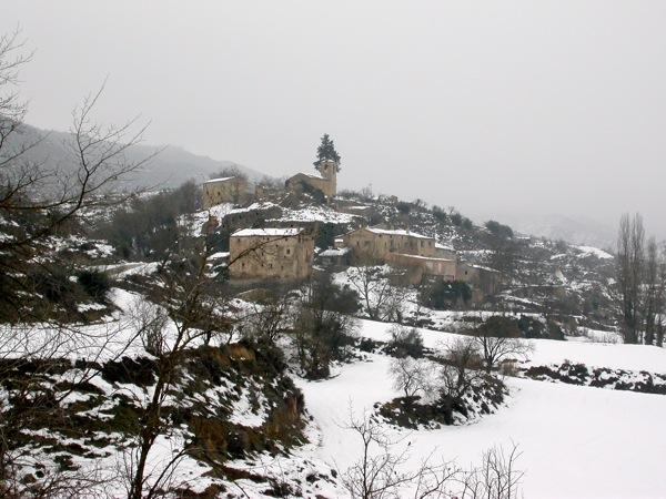 05.02.2006 Vista general del poble  Cellers -  Ramon Sunyer i Balcells