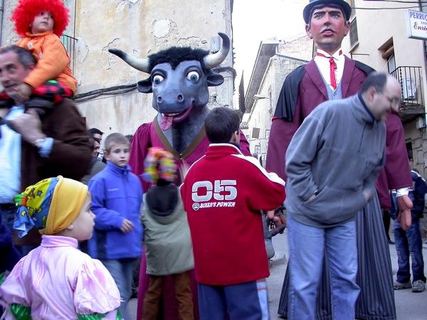 18.02.2006 El brau Constantí i el Bonic  Torà -  Ramon Sunyer