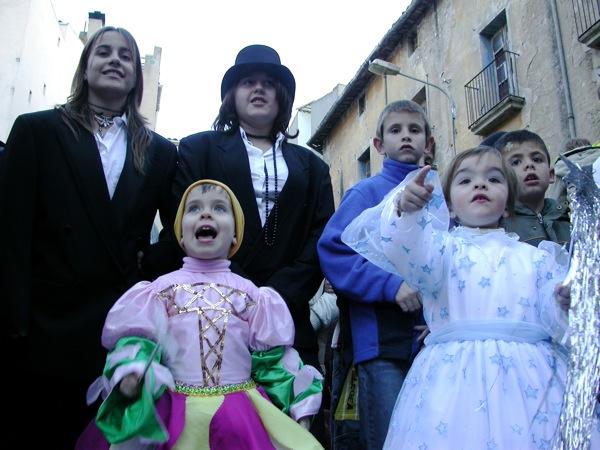 18.02.2006 Unes quantes 'pelegrines'  Torà -  Ramon Sunyer