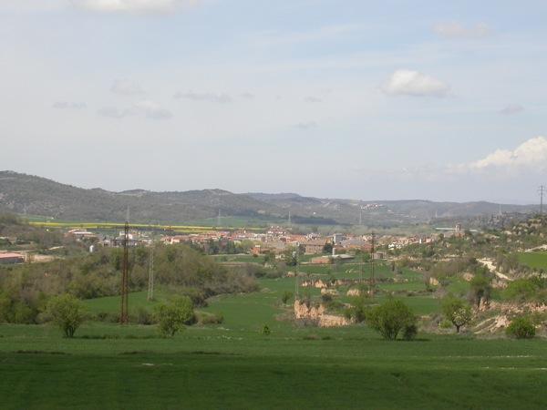 15.04.2006 Vista de Torà des de les Valls  Torà -  Ramon Sunyer