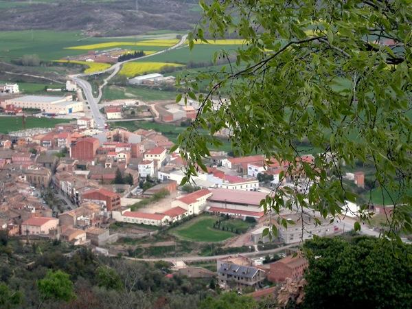 16.04.2006 Vista de Torà  L'Aguda -  Ramon Sunyer