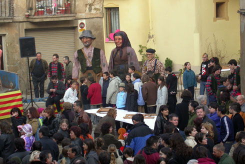 14.02.2004 Parada dels gegants  Torà -  Ramon Sunyer