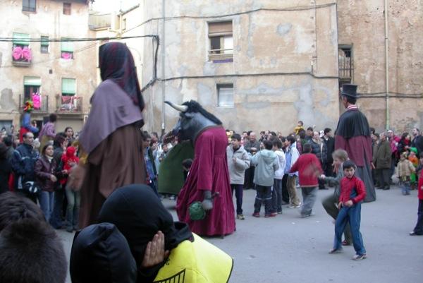 14.02.2004 Detall dels gegants  Torà -  Ramon Sunyer