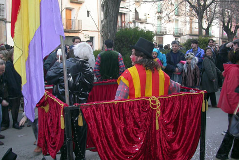 14.02.2004 Detall de comparsa  Torà -  Ramon Sunyer