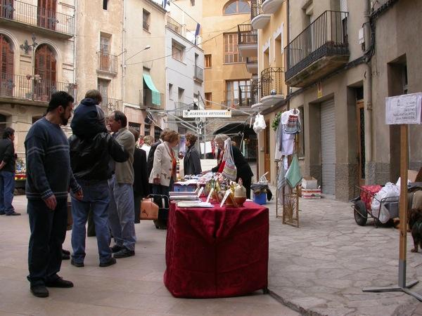 25.03.2005 Parades a la plaça del Pati  Torà -  Ramon Sunyer