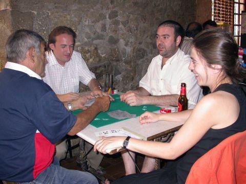 31.08.2007 Els Lao, pare i fill, enfrontant-se al Josep i la Cèlia  Torà -  Ramon Sunyer