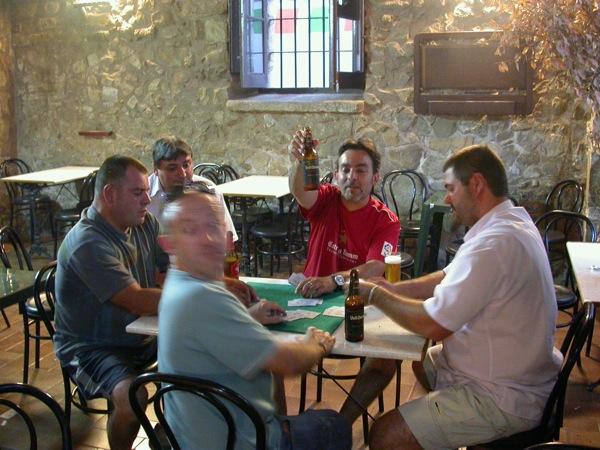 31.08.2007 Quarts de finals: Jordi Pinós/Josep Alsedà i Albert Romero/J.M. Sunyer  Torà -  Ramon Sunyer