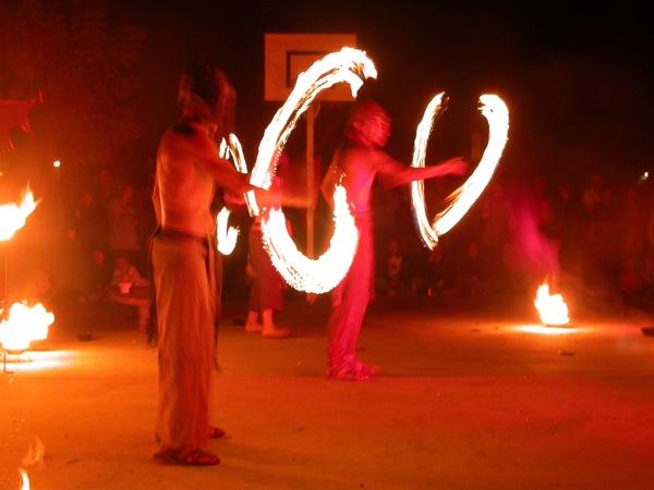 01.09.2007 Malabars amb foc  Torà -  Ramon Sunyer