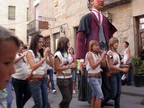 01.09.2007 Gegants i les gralleres  Torà -  Ramon Sunyer