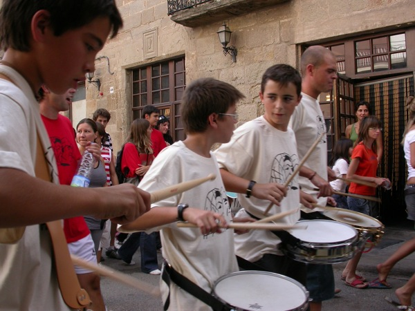 01.09.2007 Gegants i timbalers  Torà -  Ramon Sunyer