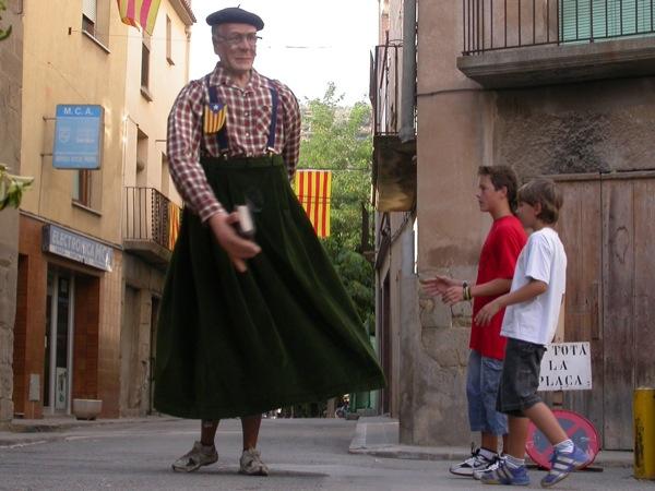 El Sergentet, gegantó de Torà - Torà