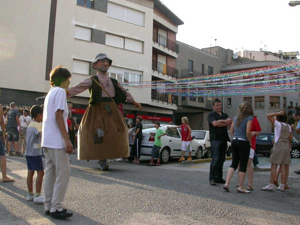 31.08.2008 gegants de la vila  Torà -  ramon sunyer
