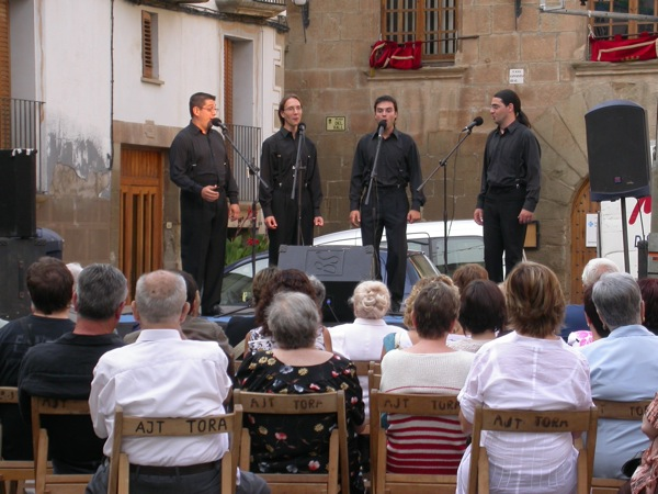 31.08.2008 The Minstrels  Torà -  ramon sunyer