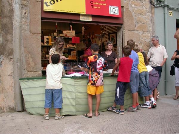 31.08.2008 tómbola apact  Torà -  ramon sunyer