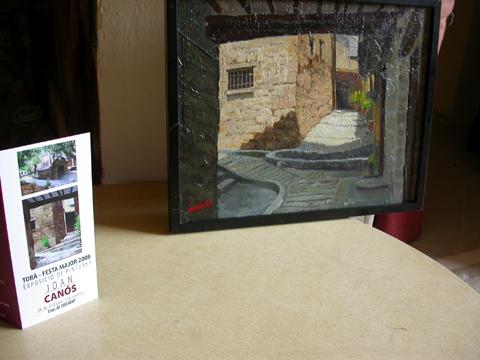 01.09.2008 Exposició de Pintures de Joan Canos  Torà -  margarita bolea