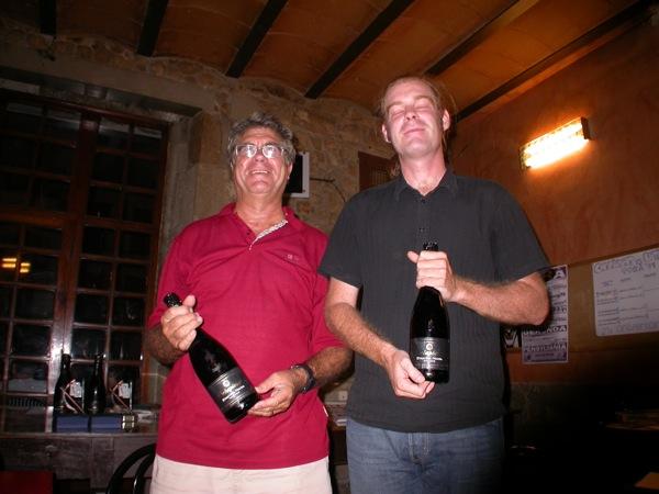 29.08.2009 Francesc Figuera i Toni Espinasa, quarts  Torà -  Ramon Sunyer